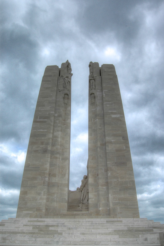 Canadians Troops Have Carried Famous Vimy Ridge