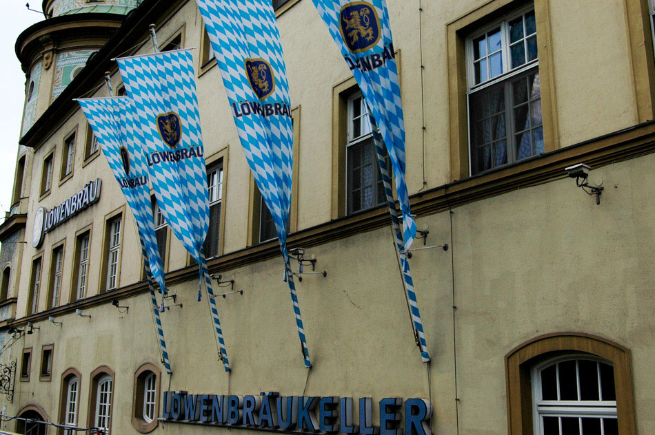 Of course, the main tourist attraction in Munich occurs every October: Oktoberfest. The Löwenbräu beer, made in accordance with the Purity Laws of 1516, is one of only six beers that are allowed to be served at the annual Oktoberfest gathering.
