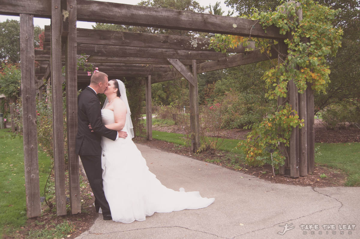 Stacy and Stephen got married at the RBG in Burlington!