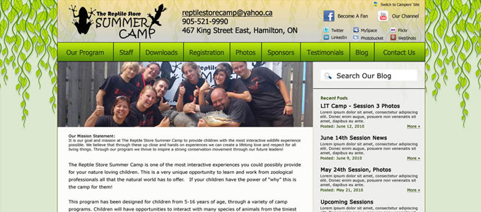 reptile-store-summer-camp