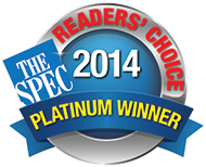 Reader's Choice Hamilton, Platinum Award
