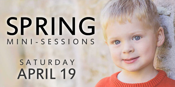 Spring Mini-Sessions, Hamilton and Stoney Creek, Ontario