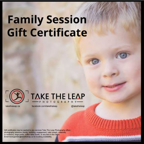 Family Session Gift Certificate