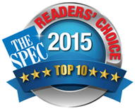 Reader's Choice Hamilton, Top Ten Award