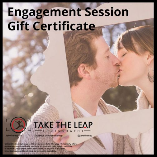 Engagement Session Gift Certificate